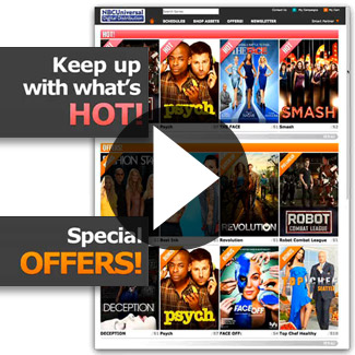 NBC Universal Digital TV Tools  Our Work Websites