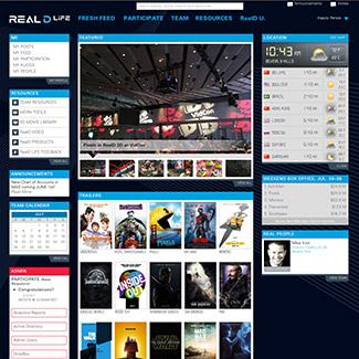 RealD Life  Our Work Websites